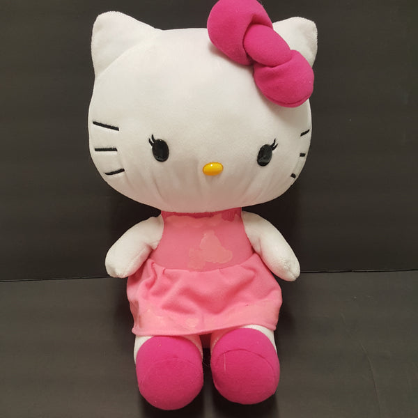 HELLO KITTY  plush pink dress Sanrio
