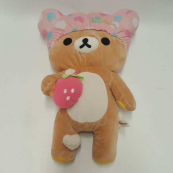 Large RILAKKUMA Plush Taking a Bath San-x