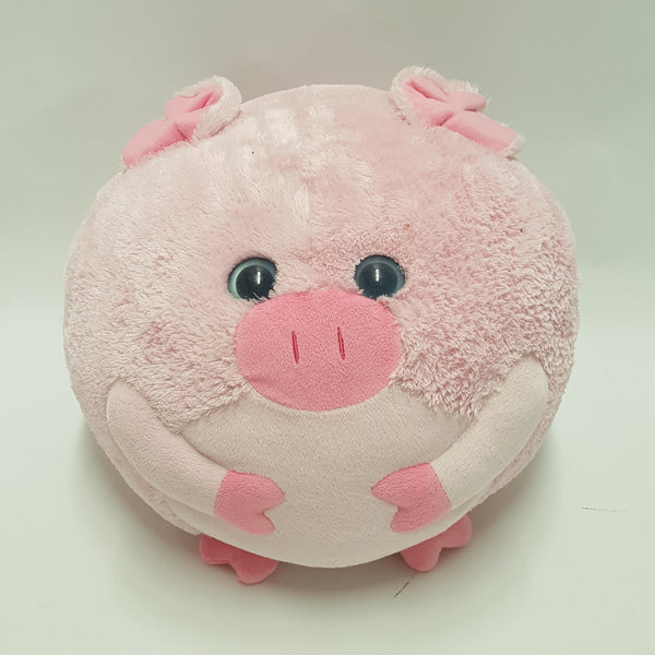 Huge TY Beanie Ballz Beans The Pig
