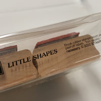 STAMPIN UP Rubber Stamps: Little Shapes  2000