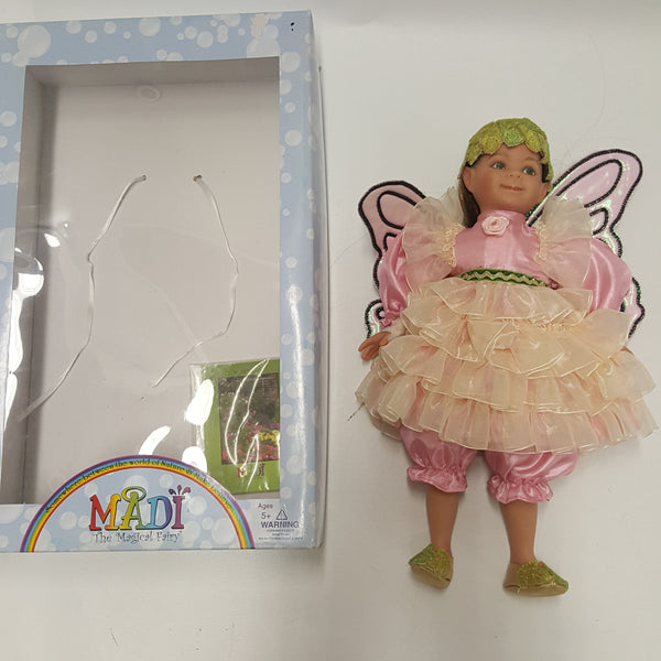 MADI the Magical Fairy  GARDEN  Itty Bitty Toy Company - NEW