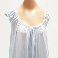 Vintage OLGA Baby Blue shortie Nightgown