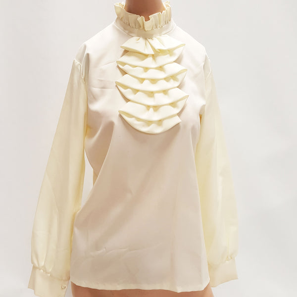 ALICE STUART for Jonathan Logan Ivory Blouse, size 12