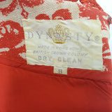 Vintage DYNASTY British Crown Colony Dress