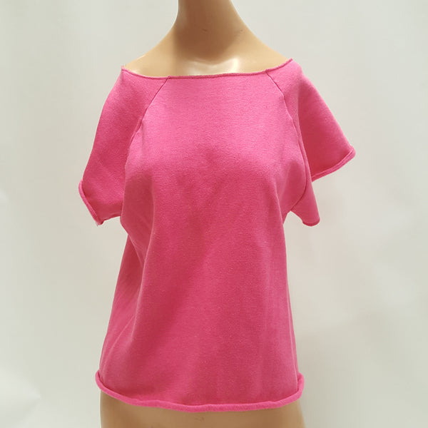 STEINWURTZEL  Pink wear-with -all Flash Dance Shirt size Medium