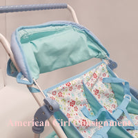 American Girl Doll Bitty Twin Flower Stroller  **LOCAL PICK UP ONLY (READ)**
