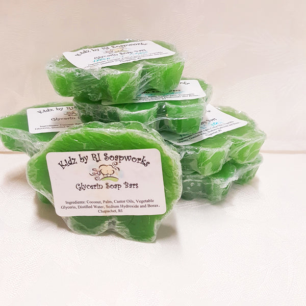 Kidz by R.I. Soapworks FRESH CUT GRASS Glycerin Soap Bars