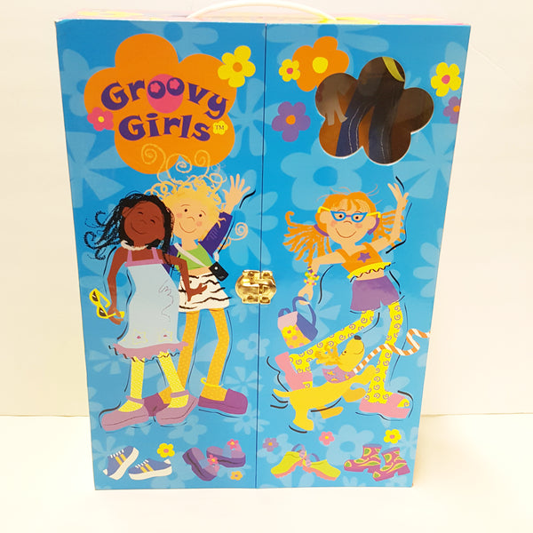 GROOVY GIRLS Doll Wardrobe Carrying Case with window