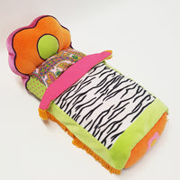 GROOVY GIRLS Doll Flower Power Bed - Orange