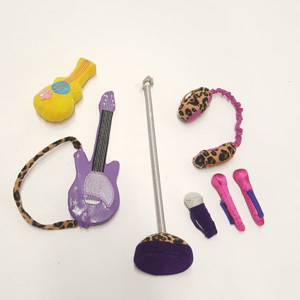 GROOVY GIRLS Doll Music group - Guitars, Microphones