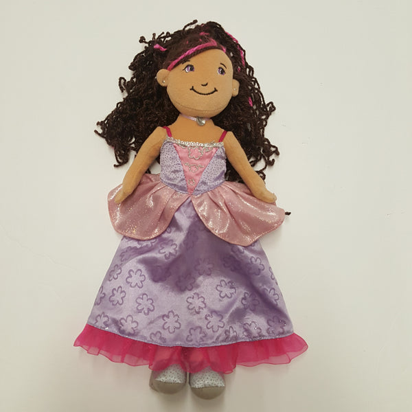 GROOVY GIRLS doll  - Brown Hair with Pink Highlights