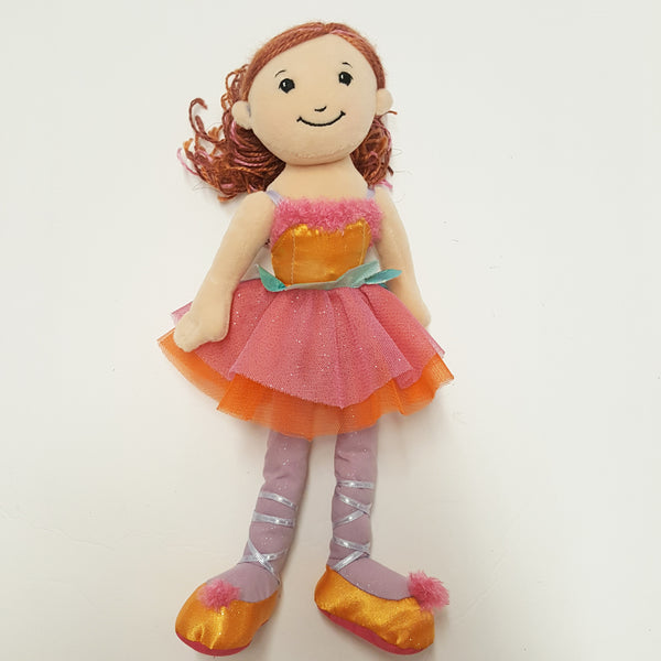 GROOVY GIRLS doll fairy pink dress