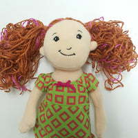 GROOVY GIRLS Doll Red Hair Pigtails