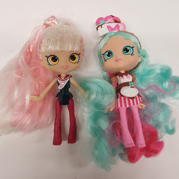 Two Shopkin Shoppies Dolls   (D01-18)