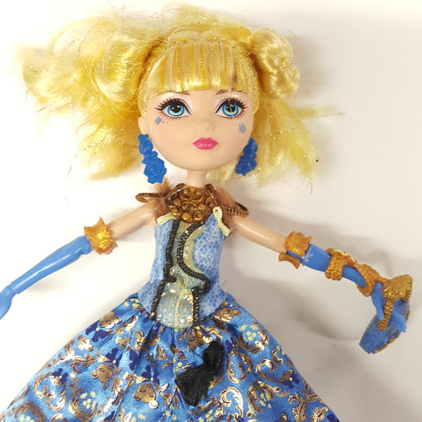 Ever After High Thronecoming Blondie Lockes Doll (D01-18) (D01-05)