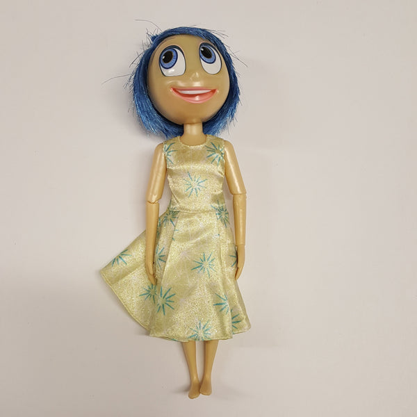 Disney Store Inside Out Talking  JOY Doll   (D01-01)