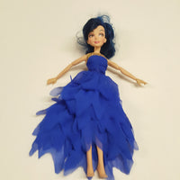 Disney Descendants EVIE Doll in Blue Coronation Ball Gown  (D03-09)