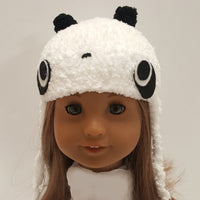 Panda Hat for Blythe and 18 inch dolls