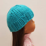 Roolla Turquoise Hat for Wellie Wishers 14 inch Dolls