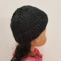 Roolla Black Hat for Wellie Wishers 14 inch Dolls