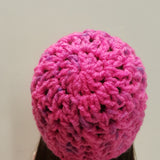 Hot Pink Knit Cap for Wellie Wishers 14 inch Dolls