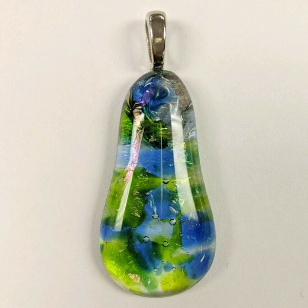 Beautiful Dichroic Glass Pendant