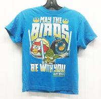 ANGRY BIRD STAR WARS Graphic Tee Blue Size- S