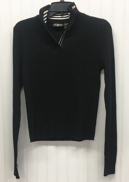 RAPLH LAUREN POLO JEANS CO. Black Cotton Pullover Sz XL   (P06-19)