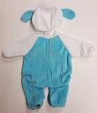 Blue Puppy Sleeper fits American Girl Bitty Baby