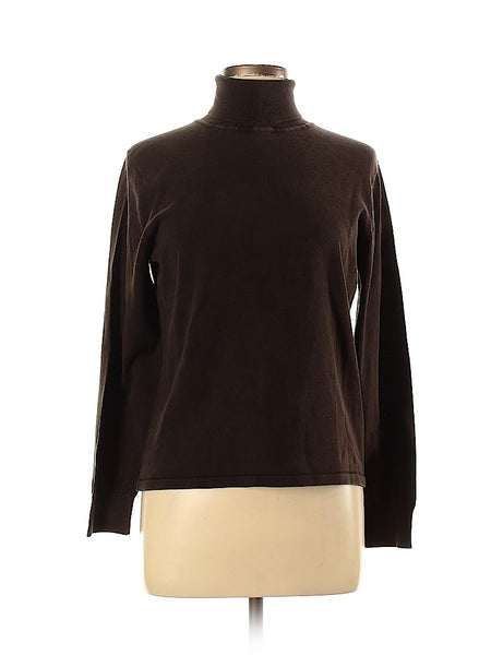 Liz Claiborne Silk Pullover Sweater Large