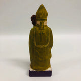 Folk Art Old World Santa Bishop
