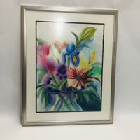 Floral Watercolor by Marjorie Glick