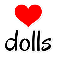 Heart Dolls Sticker