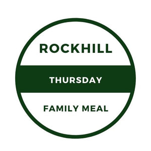 THURSDAY, MAY 7TH FAMILY MEAL - PORK CHOP MEAL (4 PERSON)