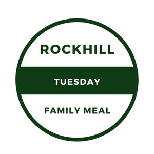TUESDAY, MAY 5TH FAMILY MEAL - ROASTED CHICKEN MEAL (2 PERSON)