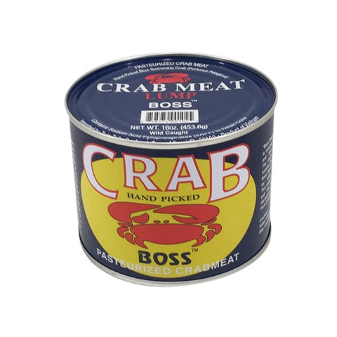 CRAB MEAT  1 LB CAN