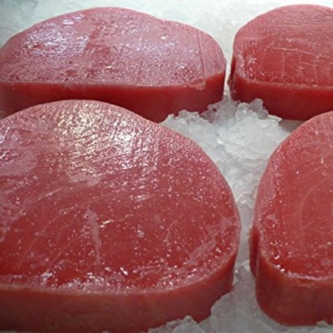 TUNA STEAK 8 OZ FROZEN