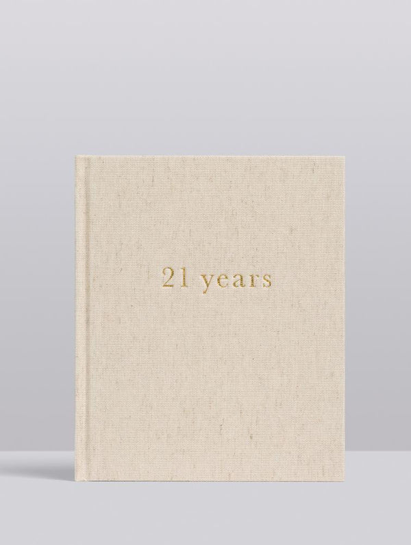 Write To Me Herinneringsboek - 21 years