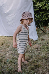 Búho playsuit Holiday ecru/cocoa