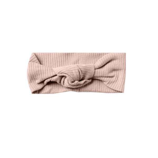 Quincy Mae turban haarband roze