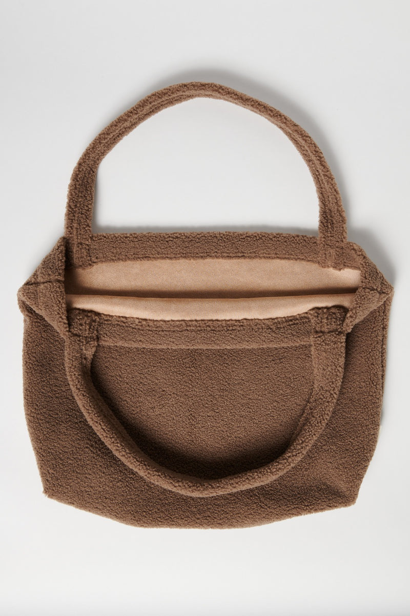 Studio Noos Chunky teddy mom-bag bruin