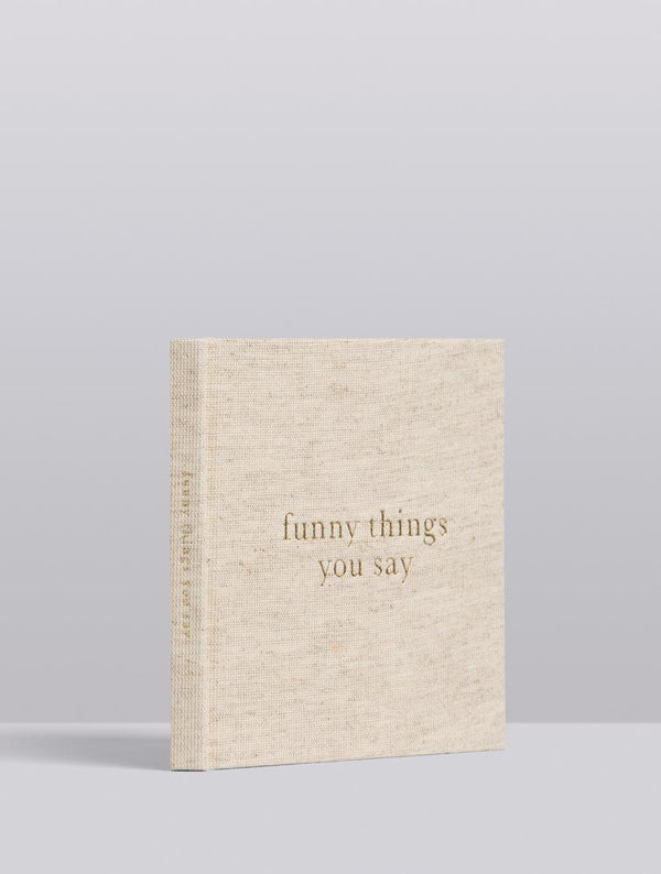 Write To Me Herinneringsboek - Funny things you say