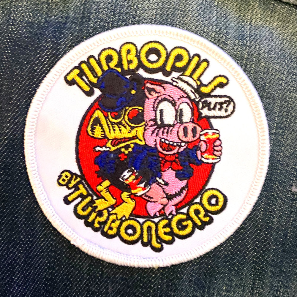 Embroidered Turbopils Patch