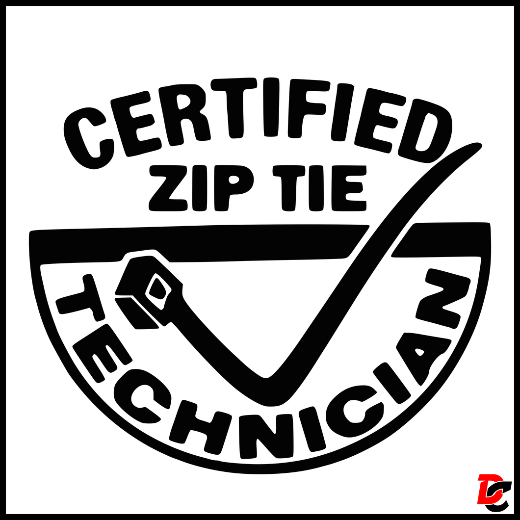 Certified Zip Tie Technician