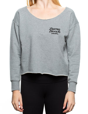 Zuma Beach Crop Crew Neck