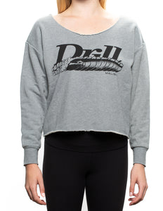 Drillpipes Crop Crew Neck