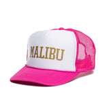 Malibu High Crown Metallic Foam Trucker