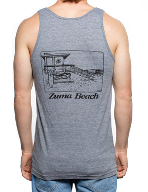 Zuma Beach Men's Tri-Blend Tank