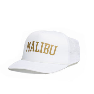 Malibu Mid-Profile Metallic Foam Trucker