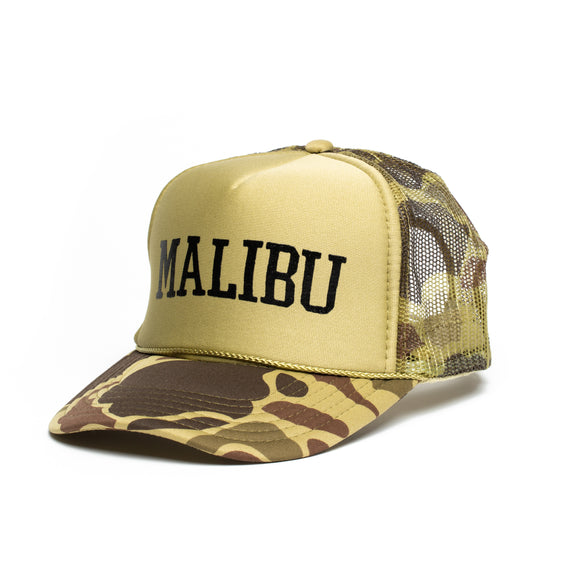 Malibu High Crown Foam Trucker